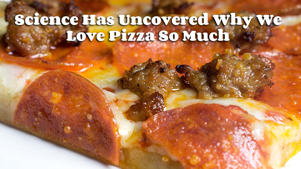 Science Has Uncovered Why We Love Pizza So Much