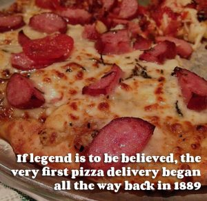 A Brief History Of The Pizza Delivery