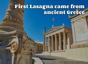A History Of Great Lasagna