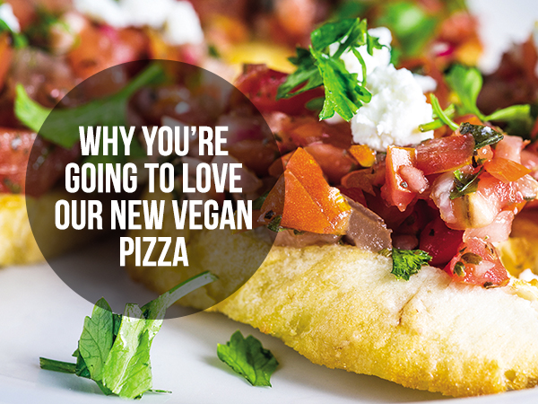 Best Pizza In Bloomington - You're Going To Love Our New Vegan Pizzas