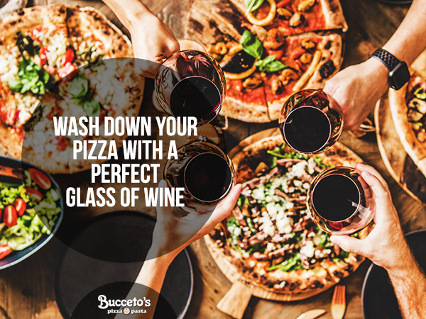 Wash Down Your Pizza With A Perfect Glass Of Wine