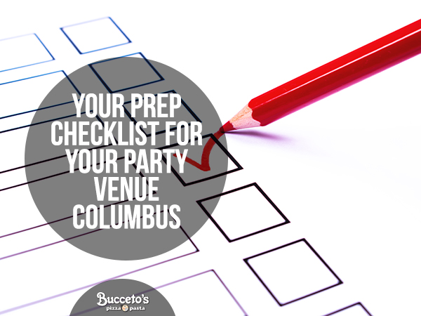 Your Prep Checklist For Your Party Venue Columbus