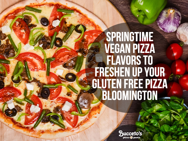 Springtime Vegan Pizza Flavors To Freshen Up Your Gluten Free Pizza Bloomington
