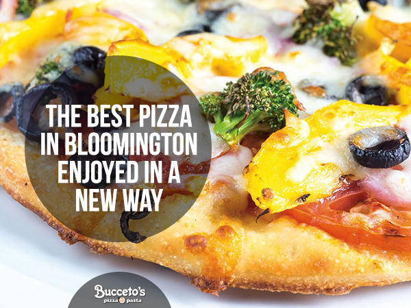 The Best Pizza In Bloomington Enjoyed In A New Way