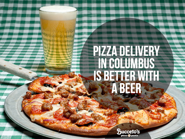 Pizza Delivery In Columbus Is Better With A Beer