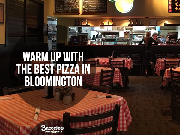 Warm Up With The Best Pizza In Bloomington