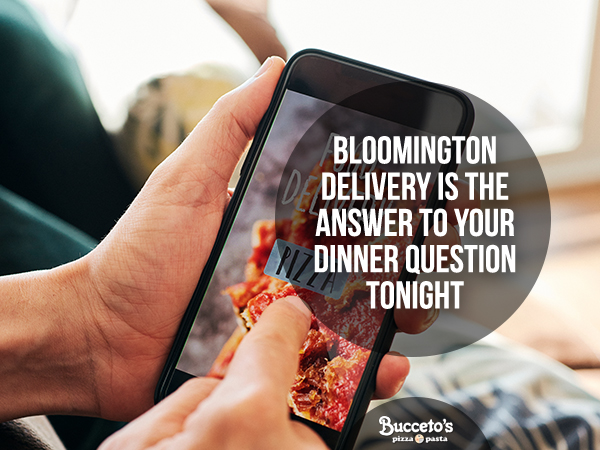 Bloomington Delivery Is The Answer To Your Dinner Question Tonight