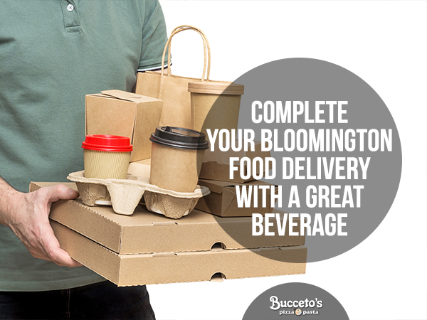 Complete Your Bloomington Food Delivery With A Great Beverage