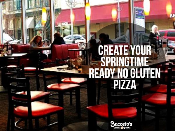 No Gluten Pizza For Your Springtime Mealtime - Buccetos