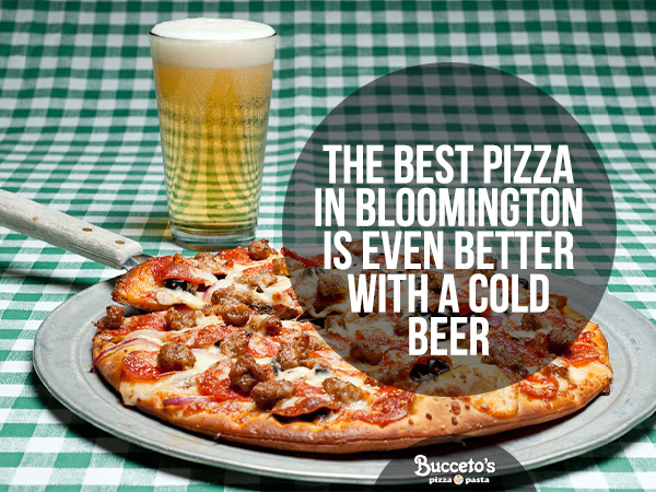 The Best Pizza In Bloomington Is Even Better With A Cold Beer