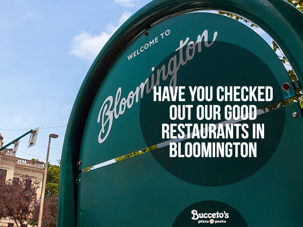 Have You Checked Out Our Good Restaurants In Bloomington?