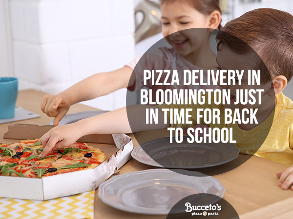 Pizza Delivery In Bloomington Just In Time For Back To School